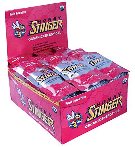 Honey Stinger Organic Energy Gel: Fruit Smoothie Box of 24