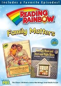 Reading Rainbow: Family Matters