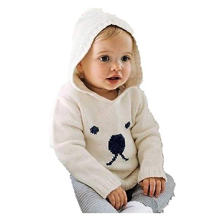 Qiusa Ropa Infantil Unisex para bebés recién Nacidos bebés Varones ...