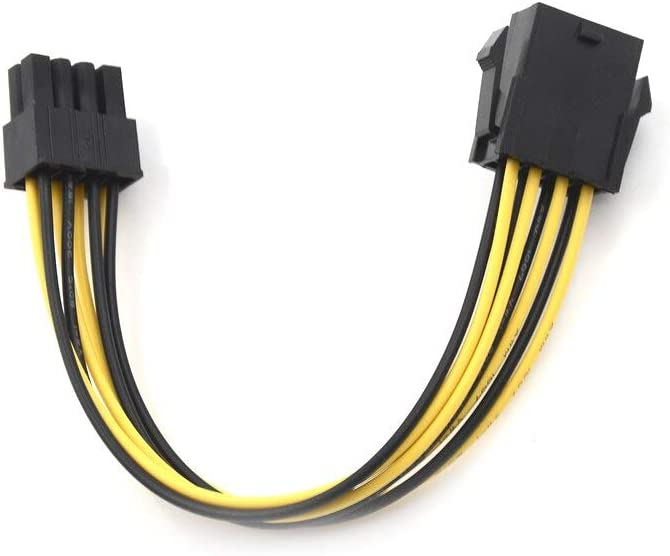 7.87 Male To Female Power Extension Computer Graphics Card 8 Pin ATX EPS Cables Connectors 20cm BoKa-Store