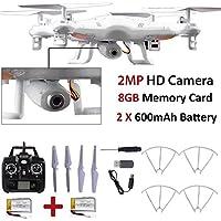 8GB X5C-1 2MP HD Camera 2.4Ghz 6-Axis UAV RTF Quadcopter Drone UFO Gyro RC