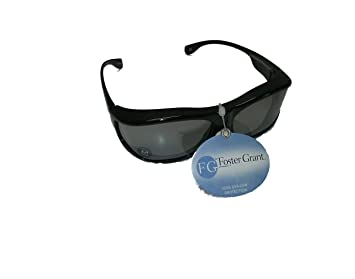 4c22ccded73 Image Unavailable. Image not available for. Color  Foster Grant Solar  Shield Polarized Panorama Fits Over Glasses ...