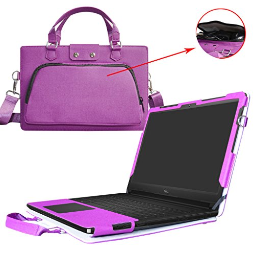 9 5555 5566 Case,2 in 1 Accurately Designed Protective PU Leather Cover + Portable Carrying Bag For 15.6