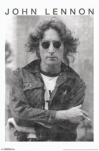 - Trends International John Lennon Smoke Wall Poster, 22.375