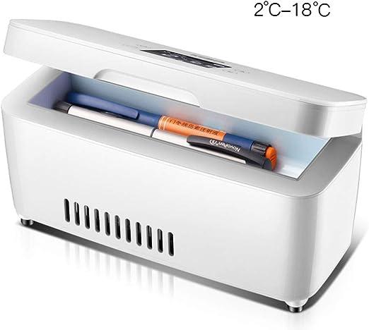 YPBX Nevera de insulina, Caja refrigerada de Medicina portátil ...