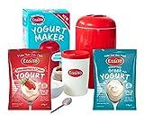Yogurt Maker, Red + Strawberries and Cream Greek Yogurt Starter review
