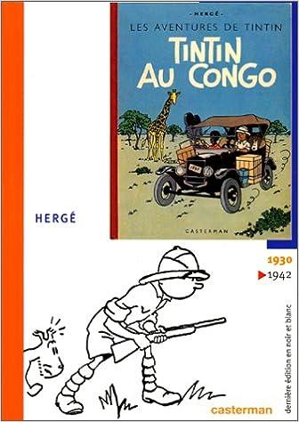 Lire Tintin au Congo, fac-similé pdf epub