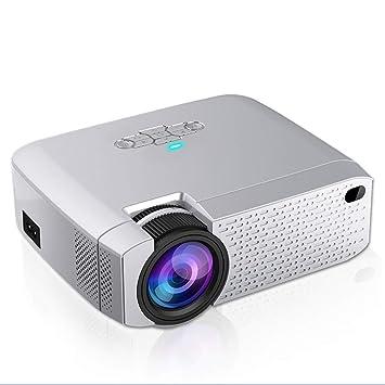 FOWYJ Proyector para Soporte de Cine en casa HD para iPhone ...