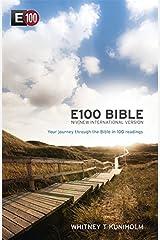 E100 Bible: New International Version Paperback
