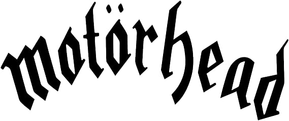 Motorhead Lemmy Auto Van Bike Aufkleber Aufkleber Rot Weitere Farben Erhältlich Auto