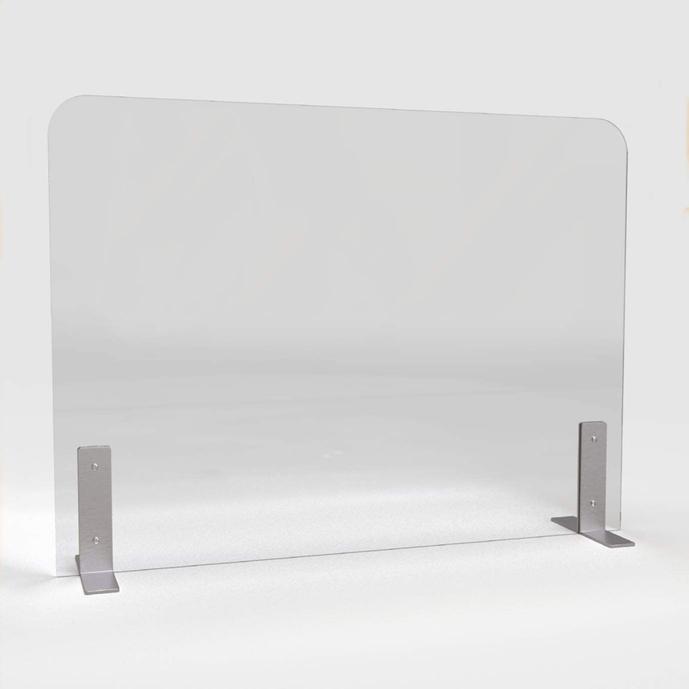 Playwood.it Safety Wall Plexiglass antibatterici per attivit/à Commerciali 99x66 cm barriera Protettiva Protezione Emergenza