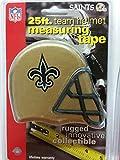 DuraPRO NFL New Orleans Saints 25 Foot Team Helmet Measuring Tape, NEW