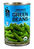 Red Belle Farms Organic Cut Green Beans, 14.5 oz (411g) (Pack of 12)