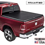 "TruXedo TruXport Soft Roll Up Truck Bed Tonneau Cover | 246901 | fits 09-18, 19-20 Classic Ram 1500, 2500, 3500 with or without Multifunction tailgate 6'4"" bed"