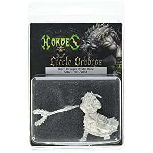 Privateer Press – Hordes – Circle Orboros: Tharn Ravager White Mane Model Kit