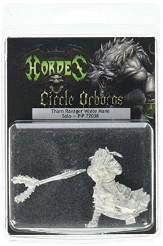 Privateer Press - Hordes - Circle Orboros: Tharn Ravager White Mane Model Kit 3