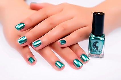 Amazon.com: Best Gift, Egmy Fashion Mirror Nail Polish Plating ...