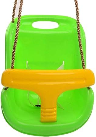 Columpio Silla De Swing Swing Home Balcón Swing Bebé Oscilación del Jardín Al Aire Libre De Los Niños Regalo De Oscilación Cumpleaños De Los Niños De Interior, Que Lleva 100kg: Amazon.es: Hogar