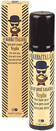 Barba Italiana Spray Post rasatura Virgilio 75ml - Spray post afeitado: Amazon.es: Belleza