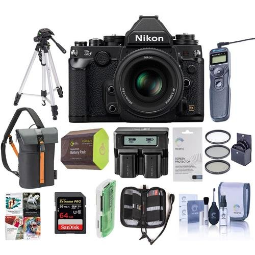 Nikon DF FX-Format Digital SLR Camera Bundle. Value Kit with Accessories #1527