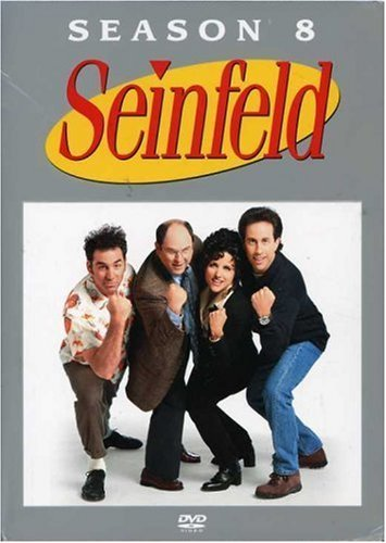 DVD : Seinfeld: The Complete Eighth Season (Boxed Set, Full Frame, , 4 Disc)