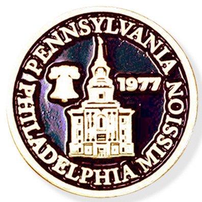 LDS Pennsylvania Philadelphia Mission Commemorative Lapel ()