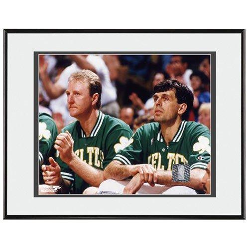 Boston Photograph Celtics Mchale - Photo File Boston Celtics Larry Bird/Kevin McHale Sitting Framed Photo