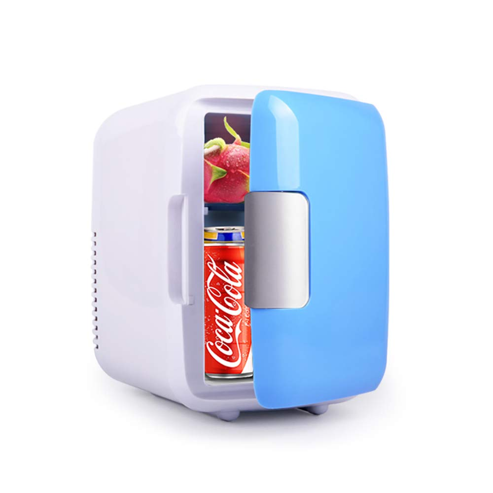 Mini Fridge, Car Fridge Portable Compact Refrigerator Electric Cooler & Warmer(4 Liter / 7 Can) For Car/Boat/Self-driving/Camping/Outdoor - 12V DC Vehicle Plugs by BESWORLDS