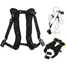Double Shoulder Belt for Panasonic FZ200 FZ1000 LX100 FZ70 LX7 GX7 GX1 GF6 G3
