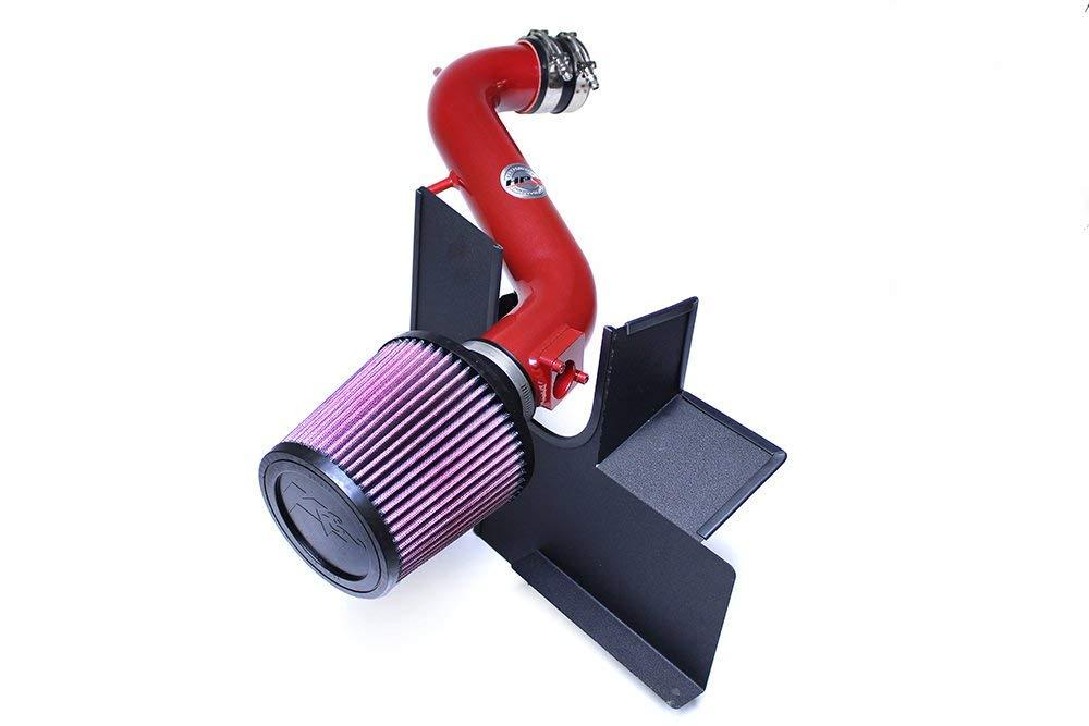 Cool Short Ram SRI HPS 27-544R Red Shortram Air Intake Kit with Heat Shield