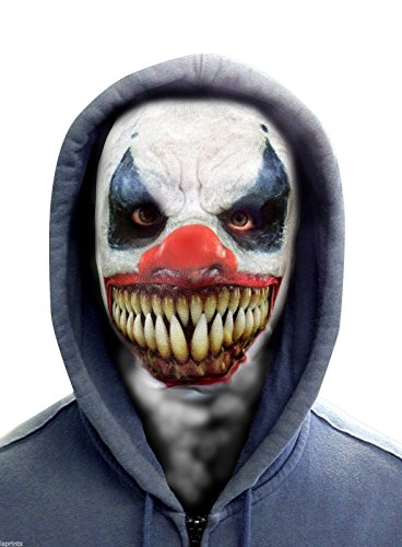 FACE SKINZ - DEMON CLOWN FACE Lycra Face Mask -