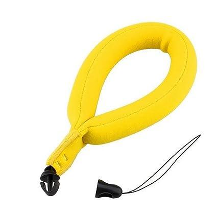 Vococal - 250g impermeable Flotador de Cámara Banda para la Muñeca Correa de Flotabilidad para GoPro / Xiaomi YI cámara / Marina / Prismáticos / Teléfonos: ...