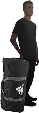 pico Puede ser ignorado excepción  adidas XL Team. Bolsa con ruedas., negro, talla única: Clothing - Amazon.com