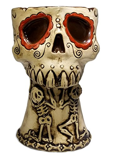 Amor Eterno Day of the Dead Skull Tiki Mug - LIMITED EDITION