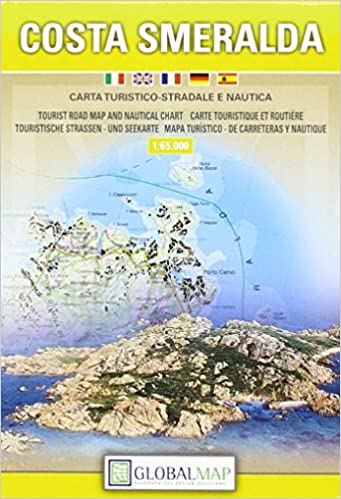 Buy Costa Smeralda Tourist Map And Nautical Chart Book Online At