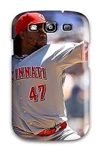 Hot 6194075K386586529 cincinnati reds MLB Sports & Colleges best Samsung Galaxy S3 cases