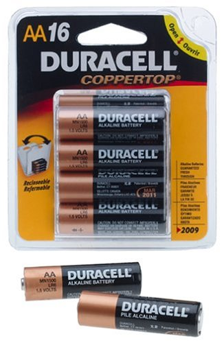 Price comparison product image DURACELL COPPERTOP AA CELL ALK BATT 16PACK
