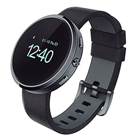 Ora Sphera Silver Reloj Smartwatch, Unisex, Negro, M: Amazon ...