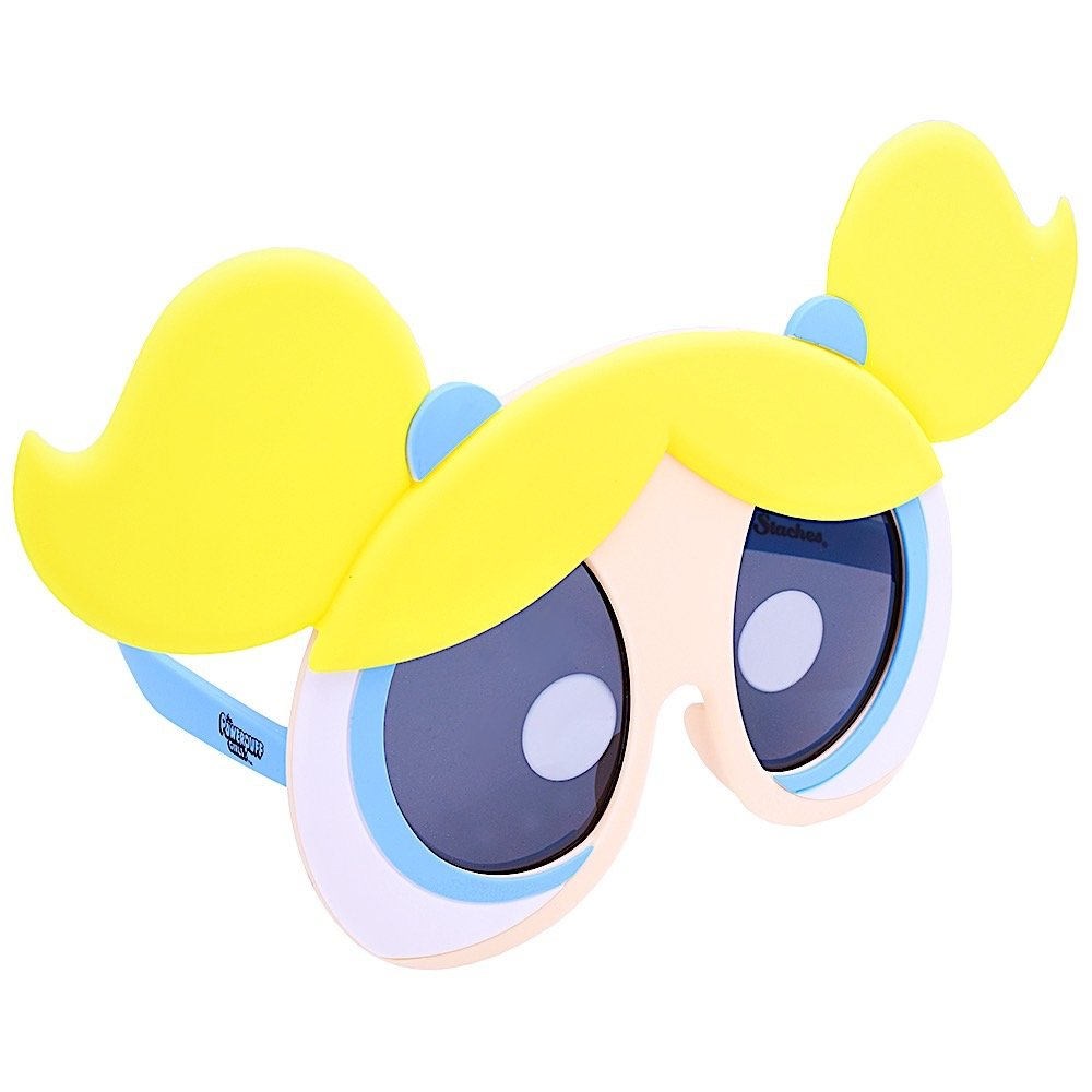 Sunstaches Powerpuff Girls Bubbles Sunglasses, Party Favors, UV400 SG2652