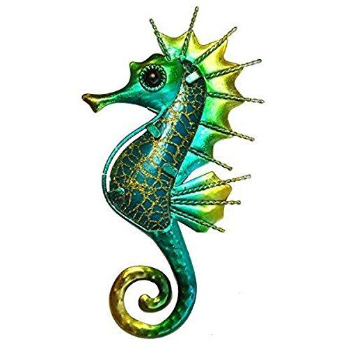 Decorative-Metal-Wall-Art-17cm-Seahorse