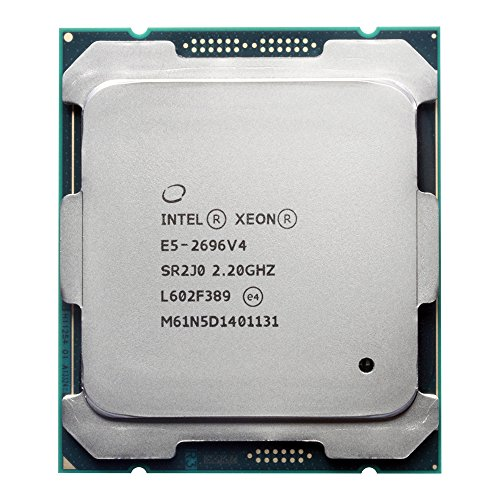 Intel CM8066002022506 Xeon E5-2699 v4 22-Core/44-Thread 55MB Cache 2.20GHz LGA2011 by Intel