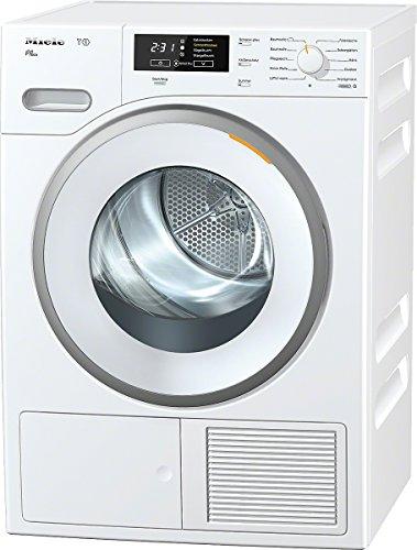 Miele TMB640WP D LW Eco Wärmepumpentrockner / A++ / 8 kg / Punktgenaue Trocknung für alle Textilien -PerfectDry / Duftende Wäsche / Fragrance Dos / lotosweiß