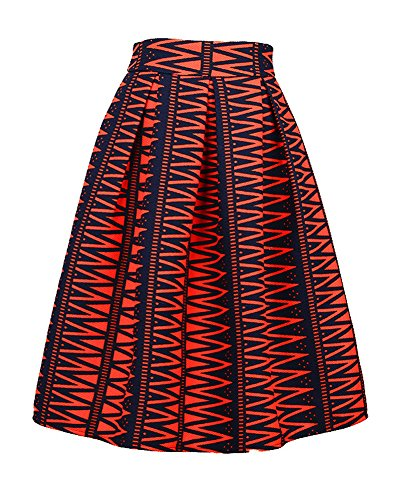 Dasbayla-Womens-High-Waist-Print-Floral-Pleated-Skirt-Midi-Skater-Skirt-one-Size