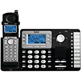 WonderCase Rca 25212 2-Line Expandable Cordless Phone With Caller Id