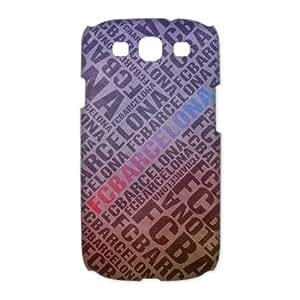 FC Barcelona Logo Image Snap On Hard Plastic SamSung Galaxy S3 I9300/I9308/I939 Case