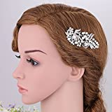 Bridal Short Hair Side Comb for Wedding or Party Hair Clip Womens GIFT Headwear Hairdress minmin