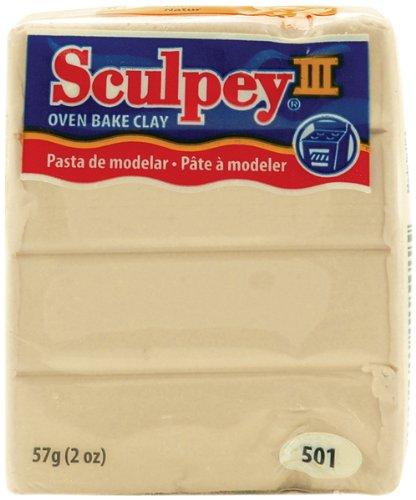 (Sculpey III Polymer Clay 2 Oz. Bar-Ivory)