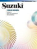 Suzuki Violin School Piano Accompaniment Volume 1 (Suzuki Violin School, Piano Accompaniments)