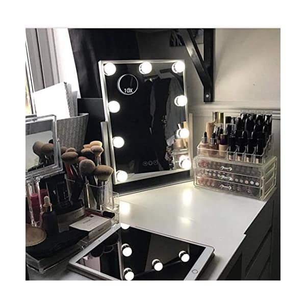 Hollywood Lighted Vanity Makeup Mirror For Dressing Desk India 2020