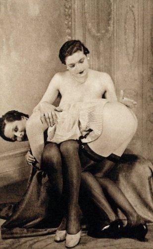 1900s woman's fashionable nude photograph stylish vintage 8x10 black & white d7g